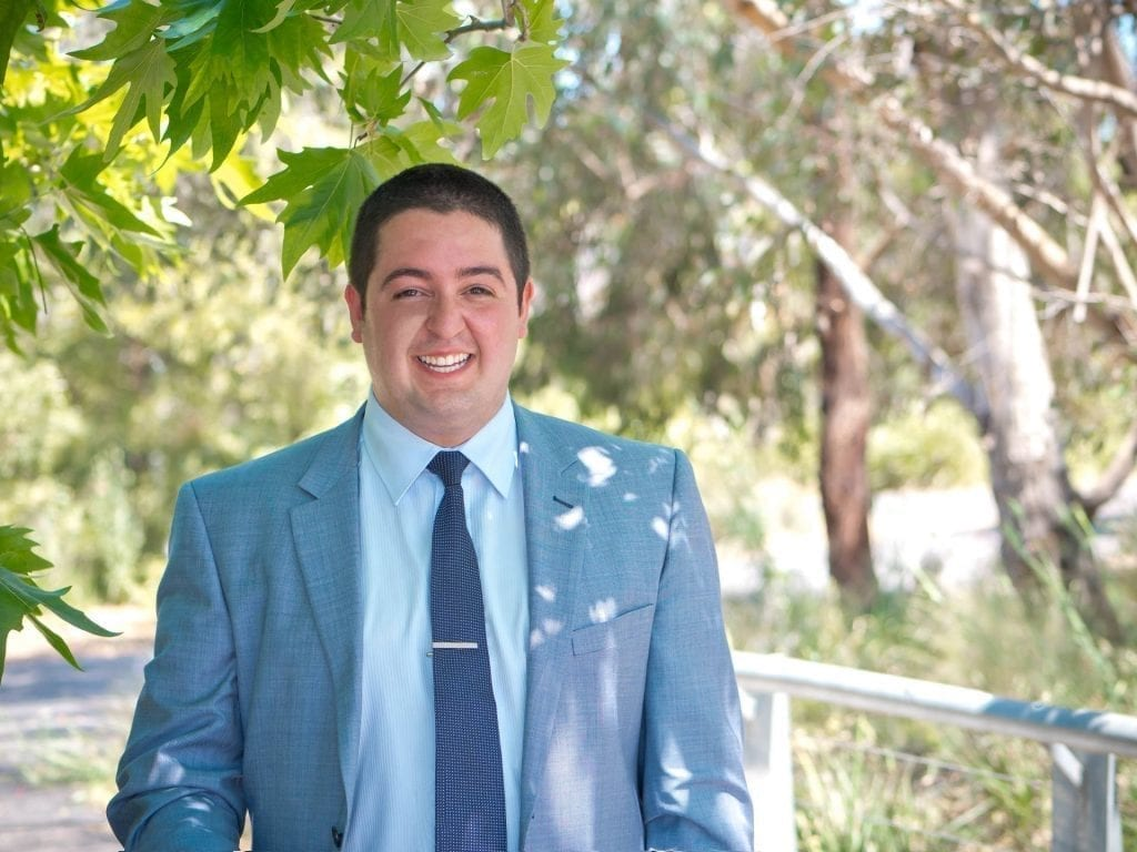 Thornbury real estate agent team member Christian