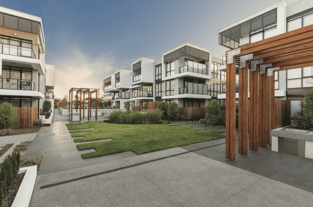brand new townhouses managed by northcote rental managers